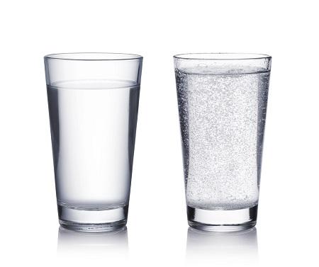 水,湯,白く濁る